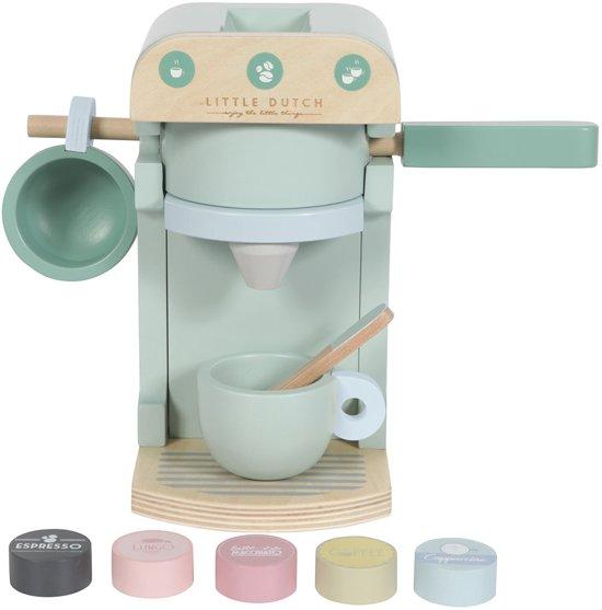 Afbeelding van Little Dutch Houten Koffiezetapparaat speelgoed