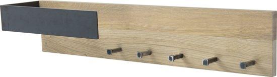 Spinder Design  Fresh 1 - Kapstok met 5 Haken - Blacksmith