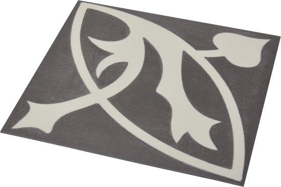 Bol flexxfloors vinyl vloer portugese tegel zwart