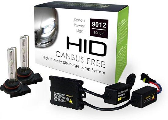 Spiksplinternieuw bol.com | Canbus HID-Xenon Set HIR2 (9012) 6000K AC Slim-Ballast AZ-11