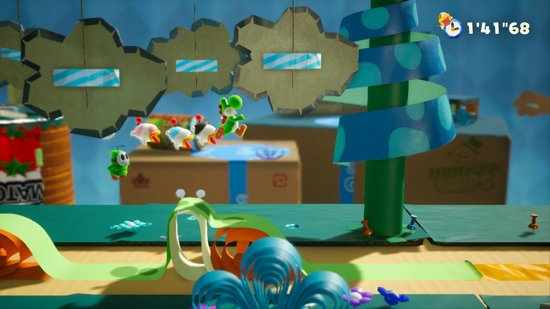 Nintendo Yoshi's Crafted World Switch