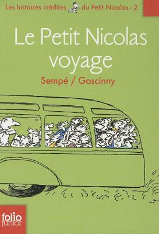 Le Petit Nicolas voyage (Histoires inedites 2)