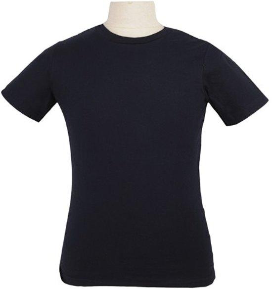 T-Shirt men donkerblauw M