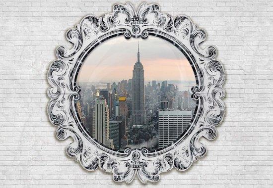 Fotobehang Empire State Building Mirror   L - 152.5cm x 104cm   130g/m2 Vlies