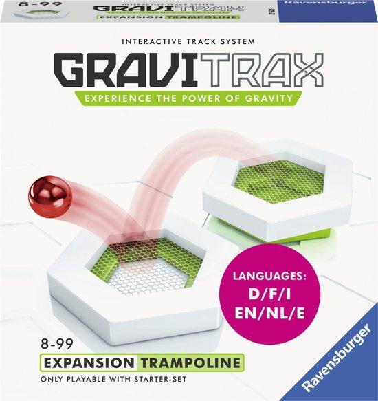 Afbeelding van GraviTrax® Trampoline uitbreiding - knikkerbaan / Kogelbaan speelgoed