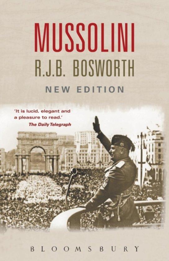 Boek cover Mussolini van Dr Richard J. B. Bosworth (Paperback)