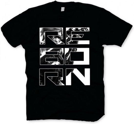Metal Gear Rising T-Shirt - Reborn, (Maat M)