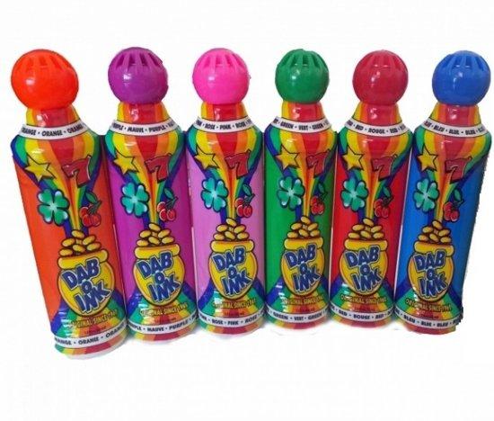 Thumbnail van een extra afbeelding van het spel 12x Dab-o-Ink Bingo Depper 43ml - Groen   Bingo dappers - debbers - dabbers