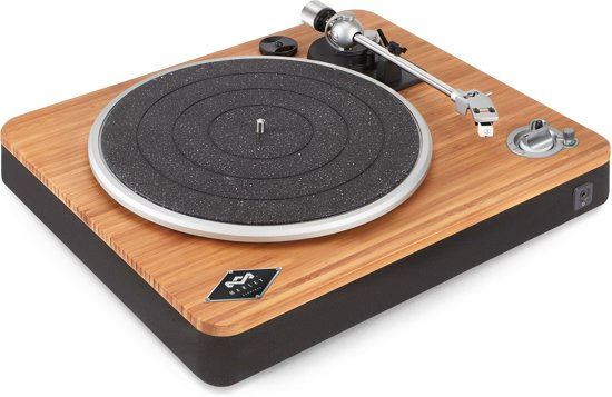 House of Marley Stir It Up Wireless - Duurzame bluetooth platenspeler - Signature black