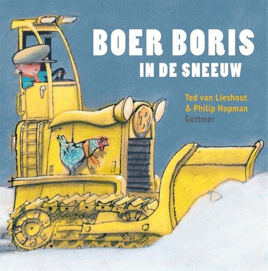 Boer Boris - Boer Boris in de sneeuw