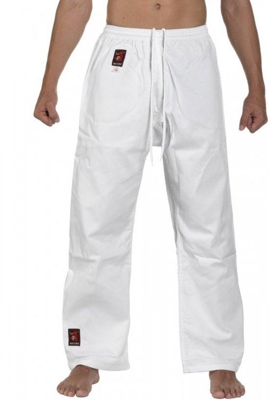 Matsuru Karate Pantalon Wit-160 cm