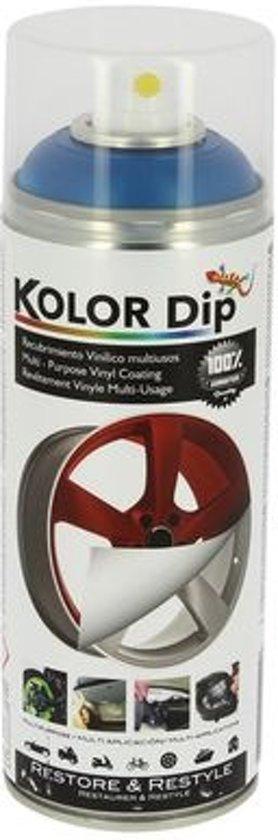 Kolor Dip Spuitfolie Metallic Blauw 400 Ml
