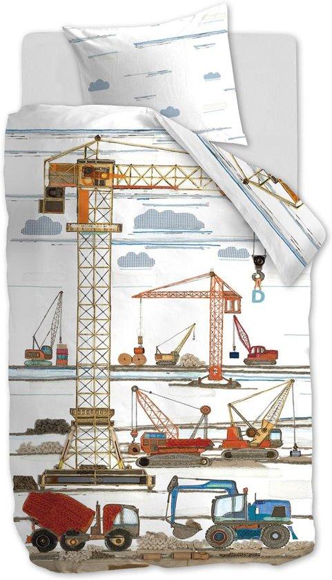 Beddinghouse Kids Building Site Dekbedovertrek - Eenpersoons - 140x200/220 - Multi