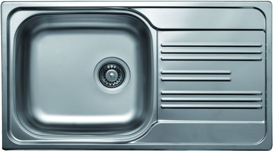 Diepte Spoelbak Keuken : Bol solido spoelbak ec rvs inbouw