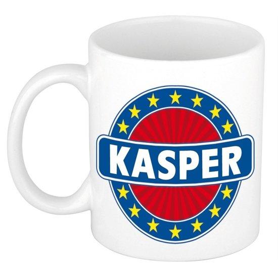 Kasper naam koffie mok / beker 300 ml  - namen mokken