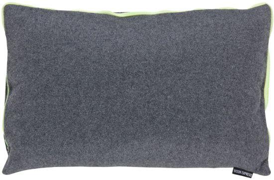 Woonexpress Felt - Sierkussen - 60x40 cm - Grijs