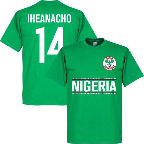 Nigeria Iheanacho 14 Team T-Shirt - XL
