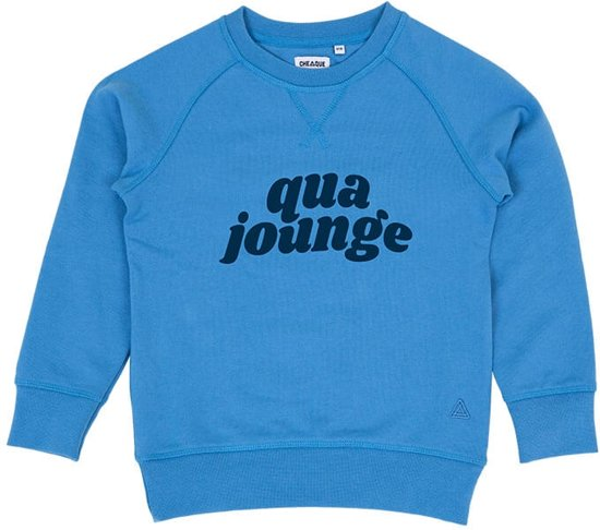 QUA JOUNGE BLAUW KIDS SWEATER