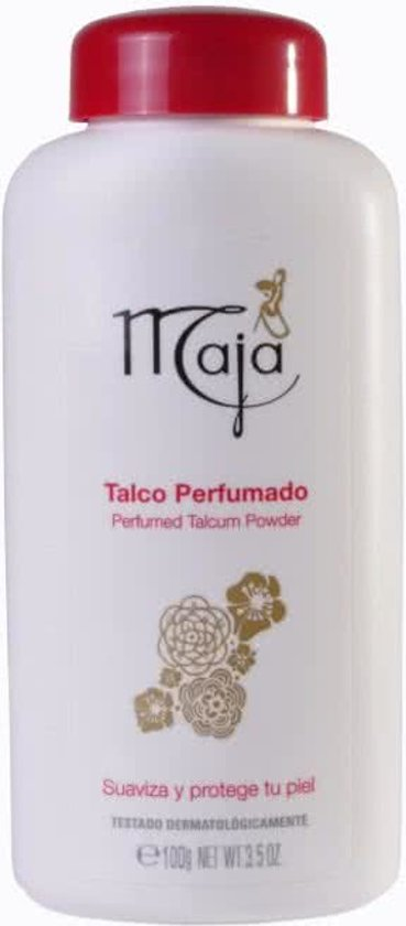 Maja Talkpoeder - 100 g - 1 stuk
