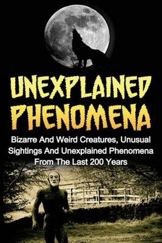 an analysis of the parapsychology and the unexplainable phenomena Parapsychology, the study of unexplained most people who want to study paranormal phenomena but they provide some of the best unbiased analysis of.
