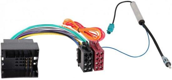 RTA ISO (v) naar Fakra Quadlock adapter