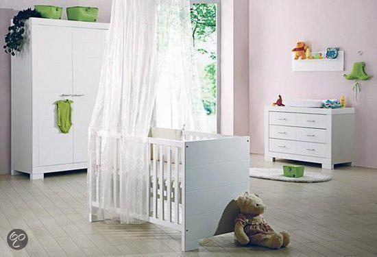 Cabino Napoli - Complete Babykamer - Wit
