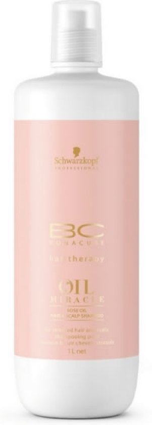 MULTI BUNDEL 3 stuks Schwarzkopf BC Oil Miracle Rose Shampoo 1000ml