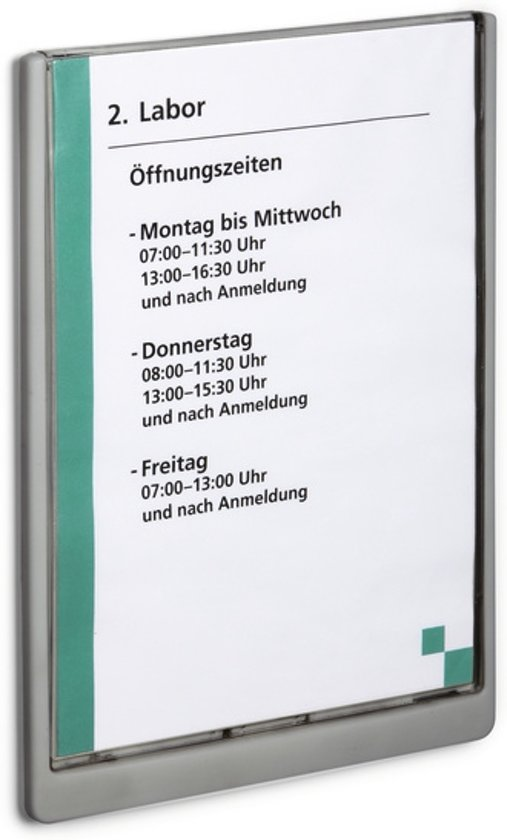 DURABLE Naambord Click Sign, kunststof, 210 x 297 mm