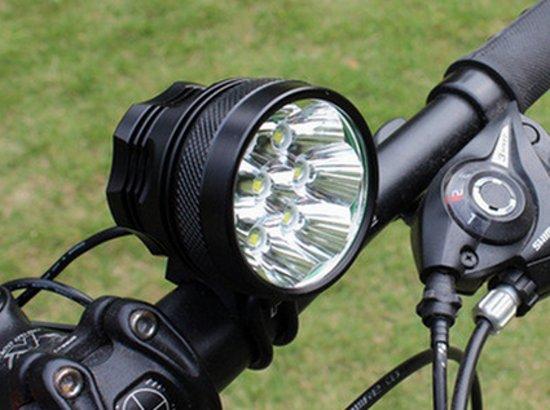 bol.com | ATB - MTB Led 15000 Lumen Power Fietslamp 10 LEDS ...