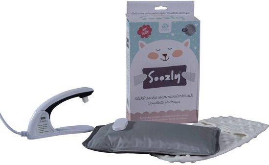 A3 Baby & Kids - Soozly elektrische warmwaterkruik - grijs