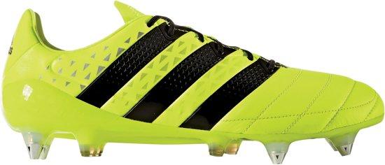 quality design 18de6 e03d1 adidas ACE 16.1 SG Voetbalschoenen Leather Heren Voetbalschoenen - Maat 40  - Mannen - geel