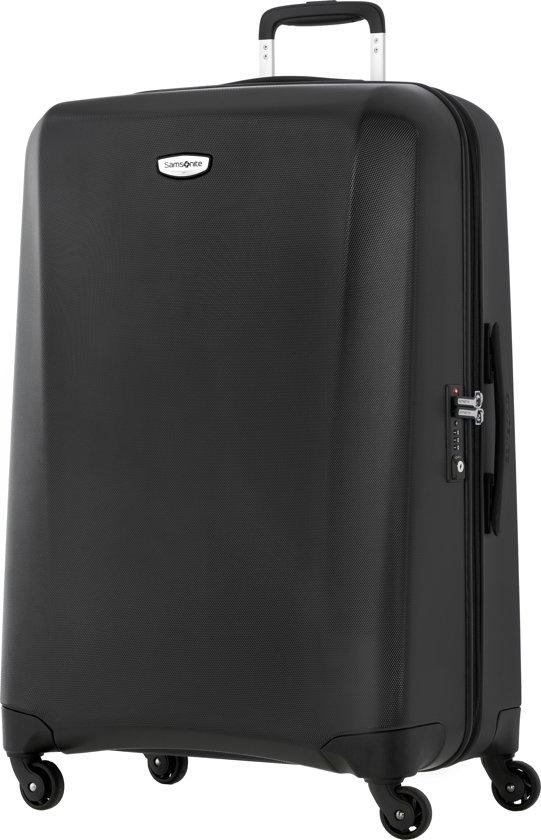 samsonite reiskoffer ncs klassik spinner 75 28 medium zwart. Black Bedroom Furniture Sets. Home Design Ideas