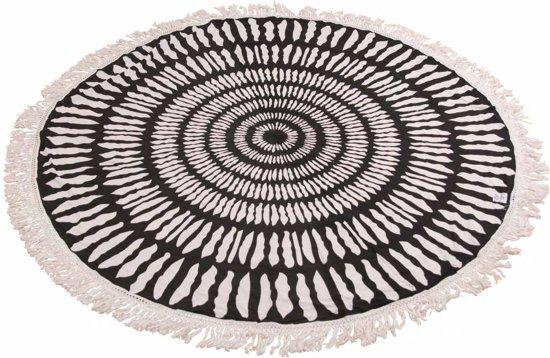Myroundie - roundie - rond strandlaken - 100% katoen – 87