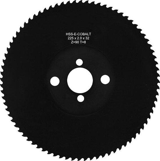 Metaalcirkelzaagblad HSSE250x2,0x32 Z128 HZ