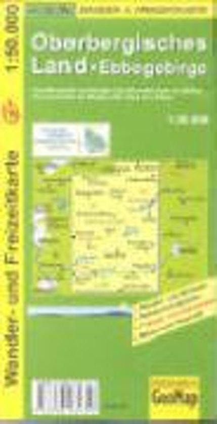 Oberbergisches Land 1 : 50 000 / Wander- und Freizeitkarte