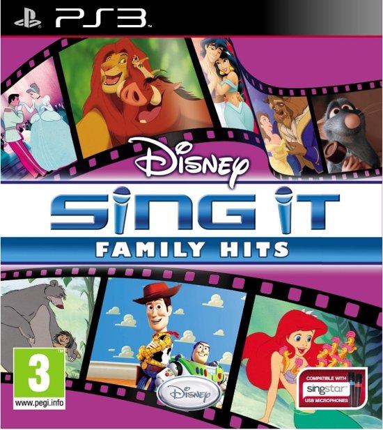 Disney Sing It Family Hits Playstation 3