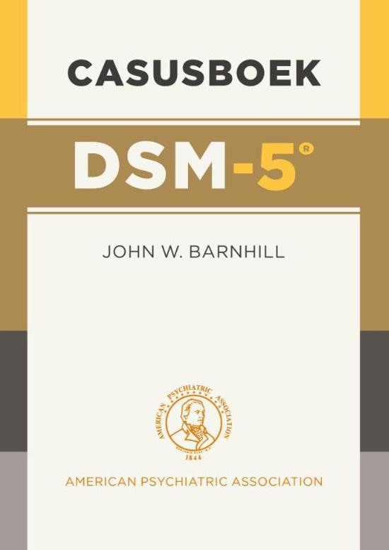 Casusboek DSM-5
