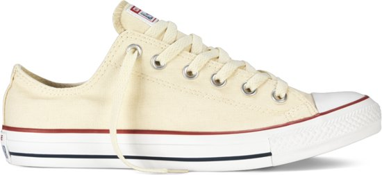 LaagNatural White All Converse Star Sneakers BerxCdoW