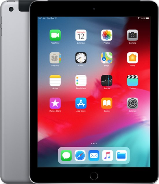 Apple iPad (2018) 32GB Wifi + 4G Space Gray