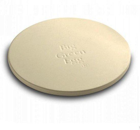 Pizzasteen voor Big Green Egg BBQ M (Diameter 30cm)