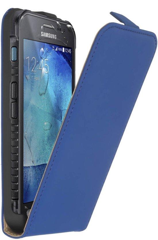 Flip Cas De Luxe Pour Samsung Galaxy Xcover 3 - Bleu CDE9WIuyz