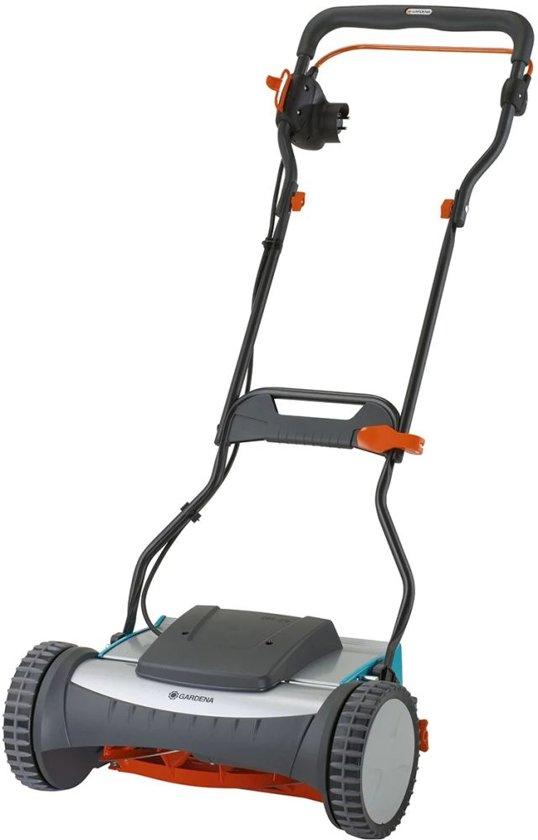 Kleine elektrische grasmaaier