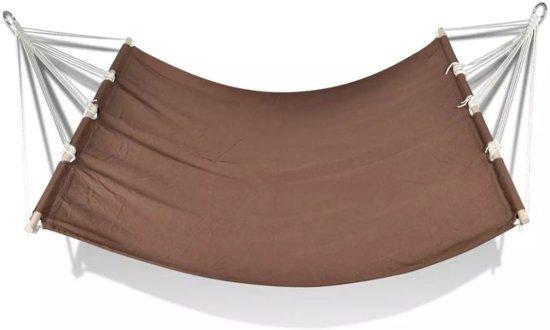 vidaXL - Hangmat Hangmat 210 x 150 cm (bruin)