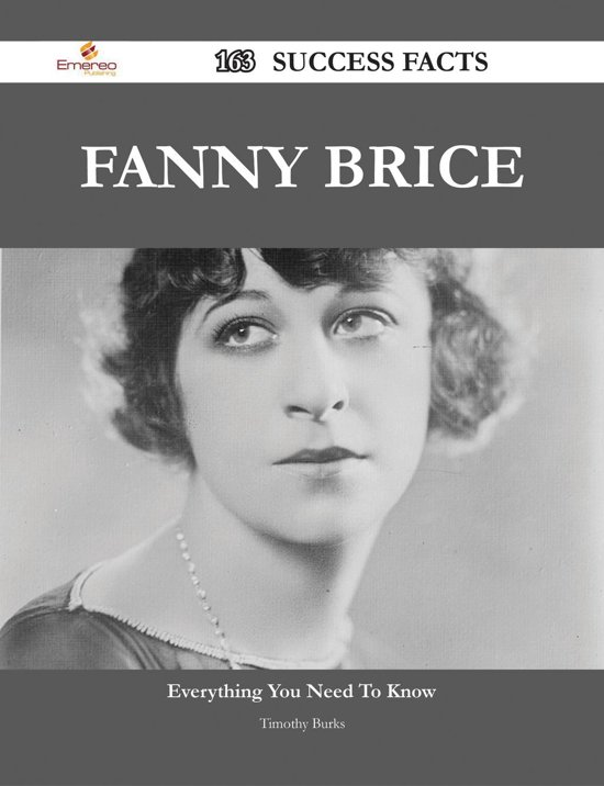 an analysis of the topic of the fanny brices career