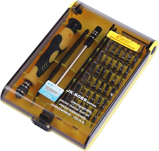Geliefde bol.com | 45-Delige Precisie Schroevendraaier Set - Met Pentalobe ZA02