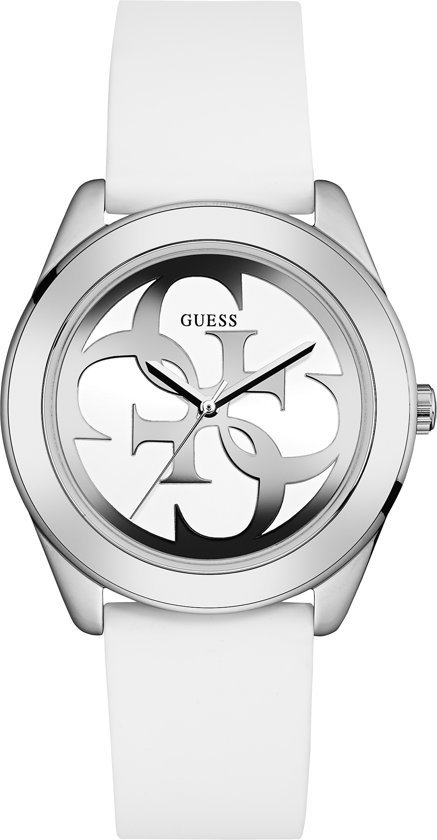GUESS Watches -  W0911L1 -  Horloge -  Vrouwen -  RVS - Wit -  40  mm
