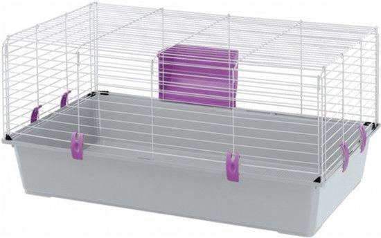 Ferplast Rabbit 100 Basic - Konijnenkooi - 95 x 57 x 46 cm
