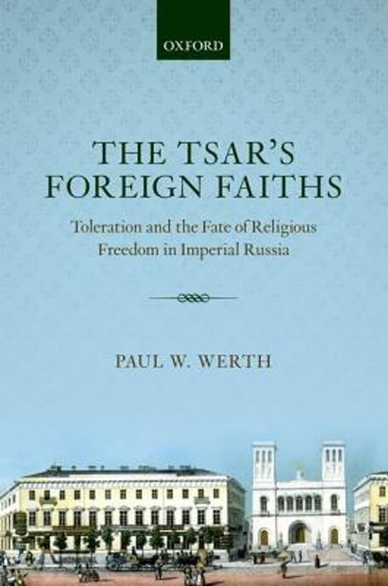 The Tsar's Foreign Faiths