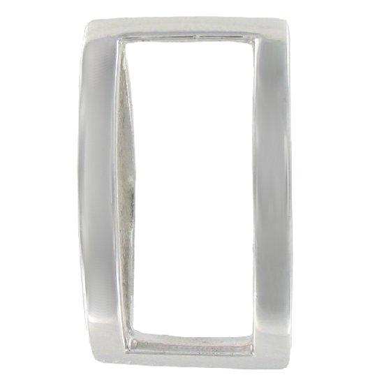 Quiges - Zilveren Hanger voor Verwisselbare 10mm Elements - ESH10005