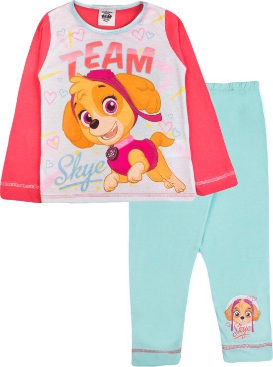 Paw Patrol pyjama meisjes maat 92/98   Team Skye